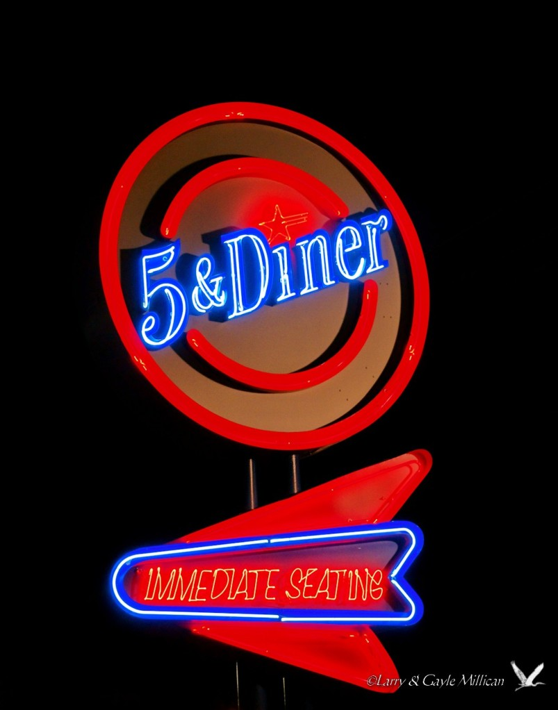 The 5 and Diner restaurant, Tulsa