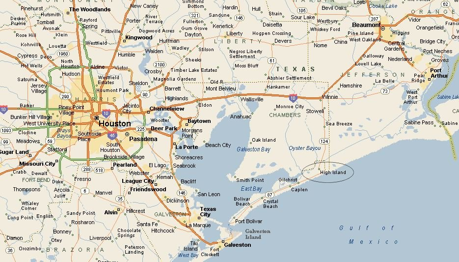 Map Of Southeast Texas My Blog - South texas map with cities