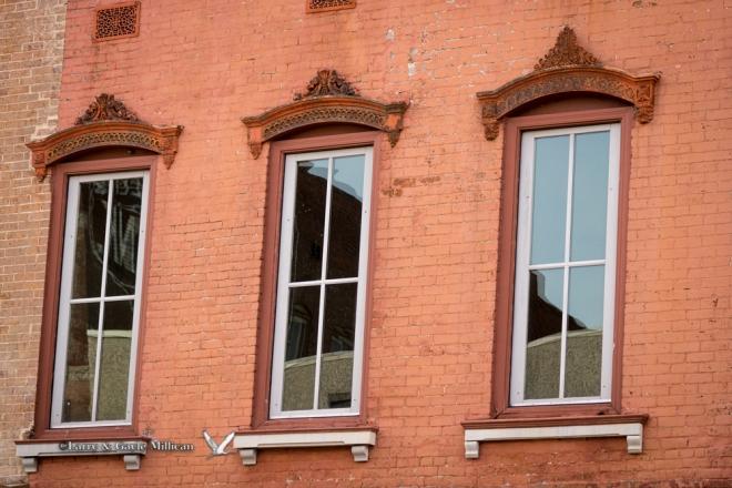 Street windows Van Buren