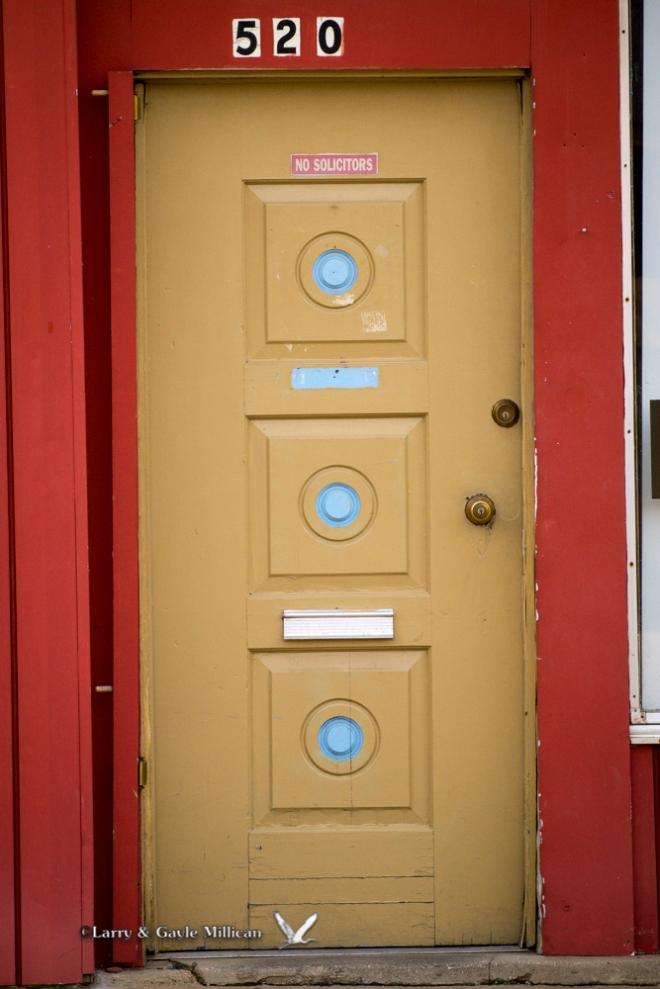 Van Buren Door