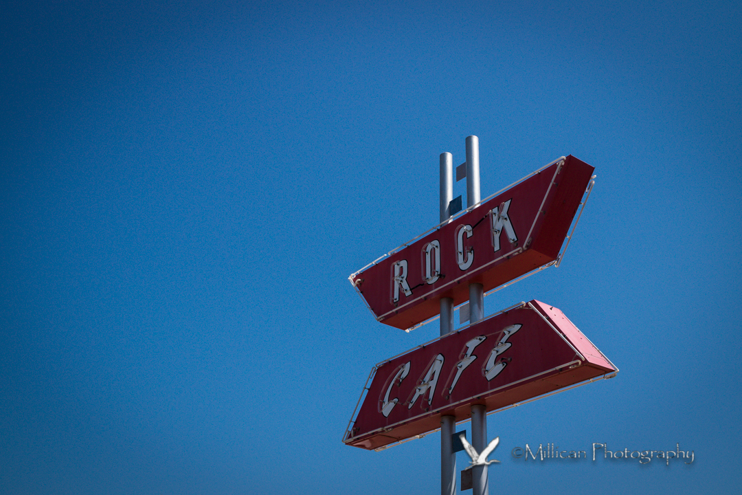 Well known along Route 66, the Rock Café in Stroud serves a great lunch.