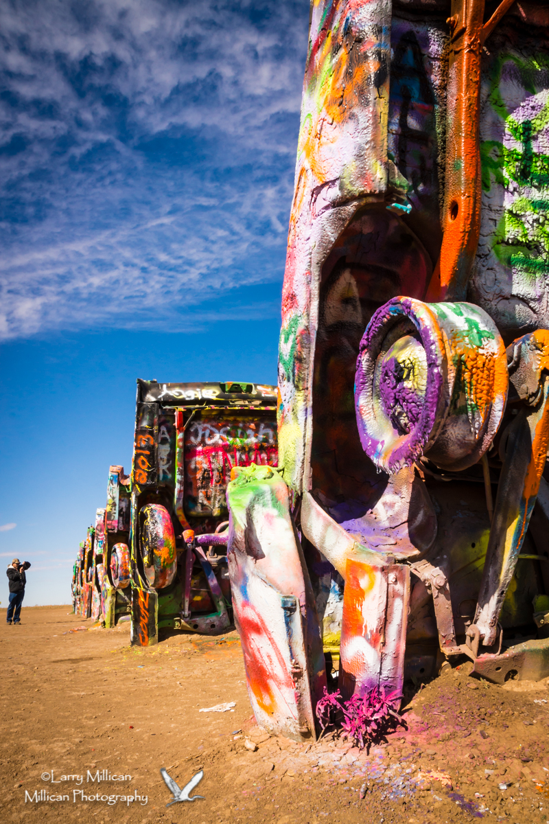 The Cadillac Ranch, Amarillo, Texas